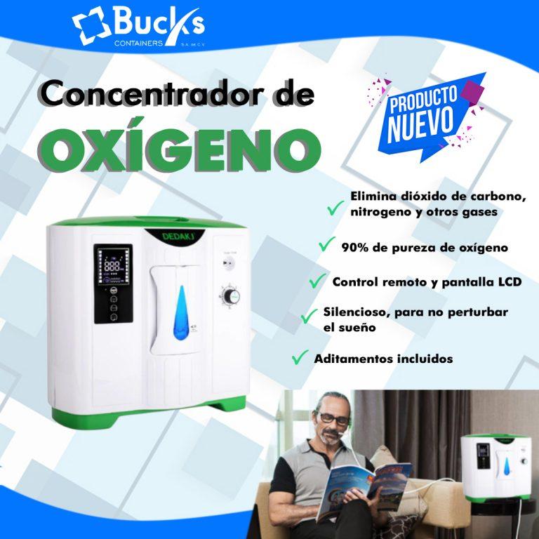 Concentrador de Oxígeno Bucks